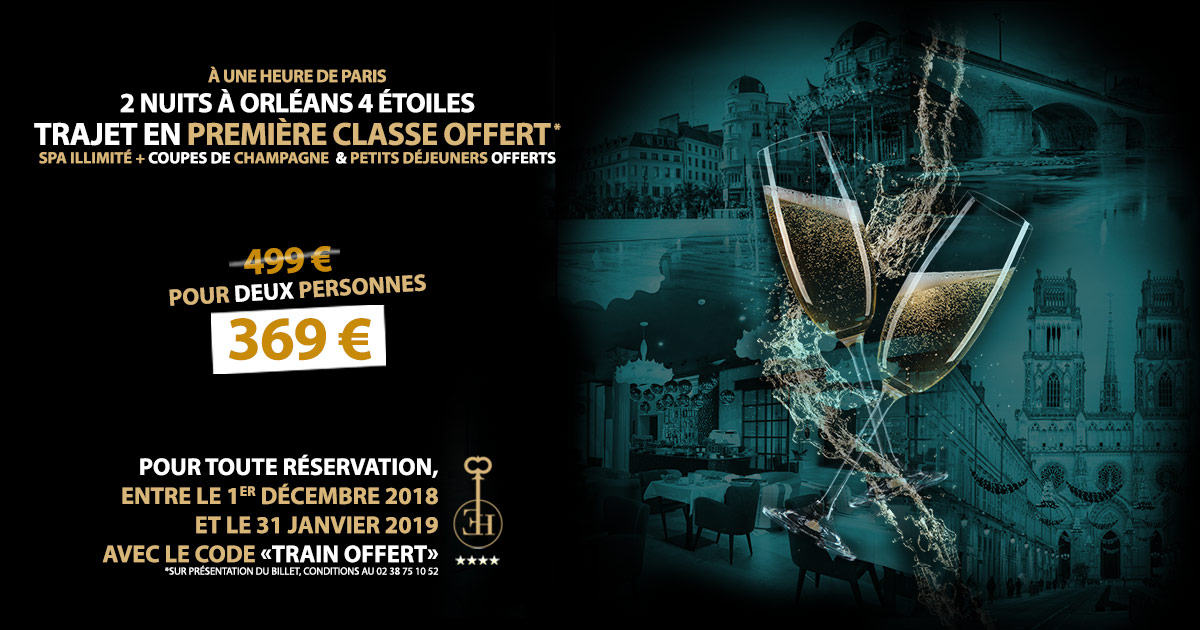 Week-end à 1h de Paris : profitez de l'offre spéciale